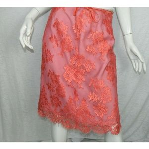 Anthropologie Party Romantic Fully Lined Skirt 4